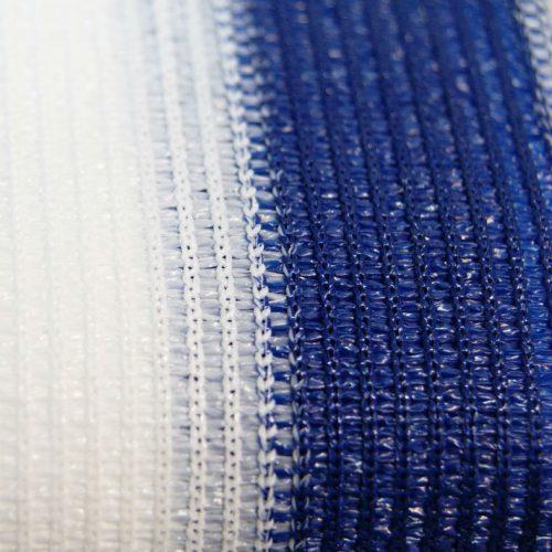 Balkondoek blauw/wit