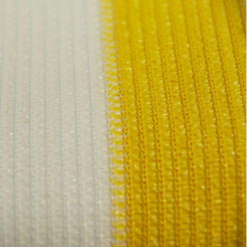 Balkondoek geel/wit