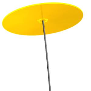 Zonnevanger Cazador-del-sol geel