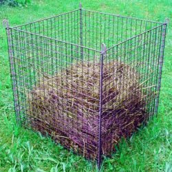 Compostkorf groen 78 x 78 x 80cm
