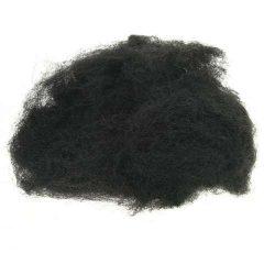 Decoratie wol zwart