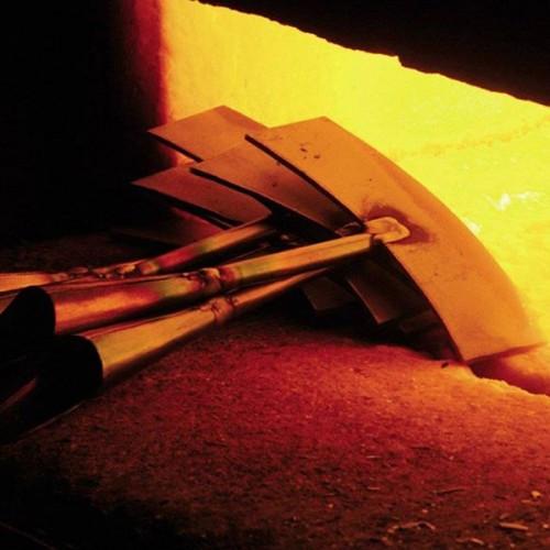 Graskantsteker gesmeed staal
