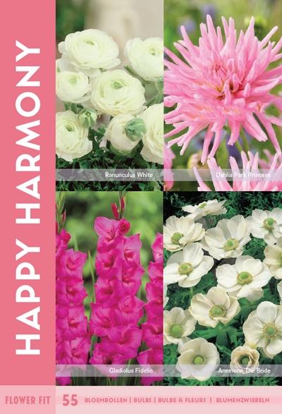 Flower Fit Happy Harmony 55st.