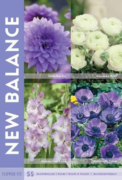 Flower Fit New Balance 55st.