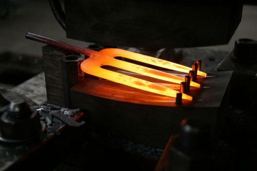Handvorkje X-treme gesmeed staal