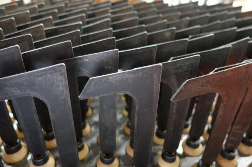 Onkruidmes 1400mm gesmeed staal