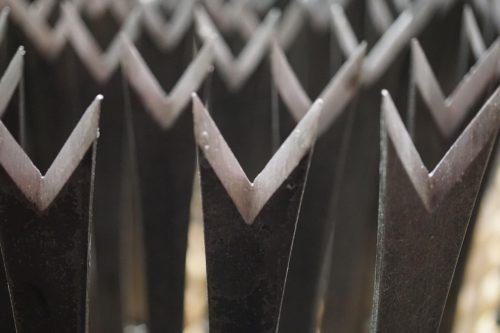 Bio paardenbloemsteker gesmeed staal