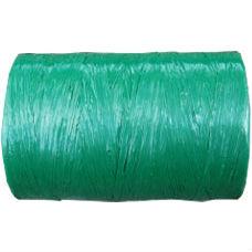 Kunststof Raffia groen
