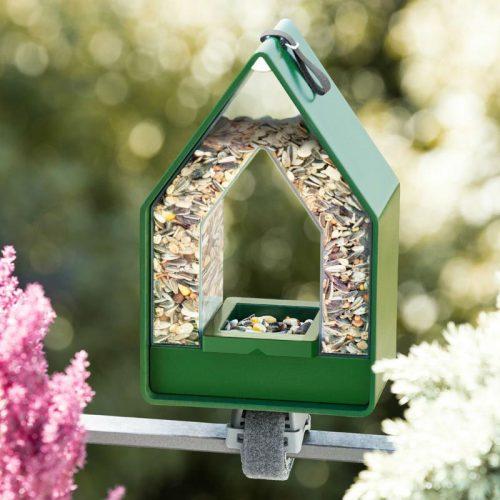 Landhaus voederhuisje dispenser groen