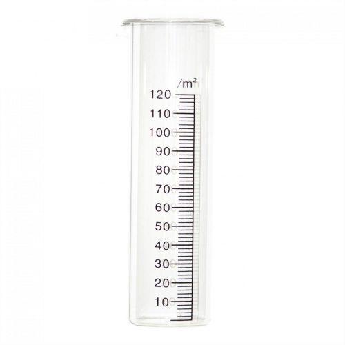 Los glas t.b.v. regenmeter