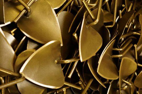 Plantschepje gesmeed staal