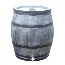 Regenton Roto Houtlook 240 liter grijs