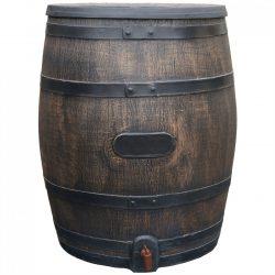 Regenton Roto houtlook 360 liter bruin