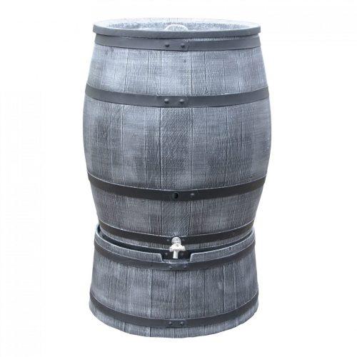 Regenton Roto Houtlook 360 liter grijs