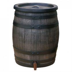 Regenton Roto houtlook 50 liter bruin
