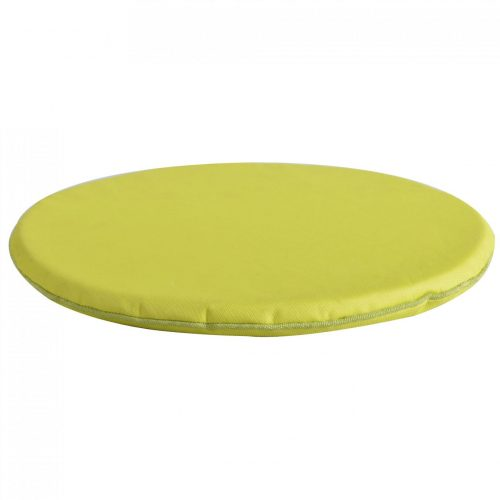 Rond kussen met magneet groen