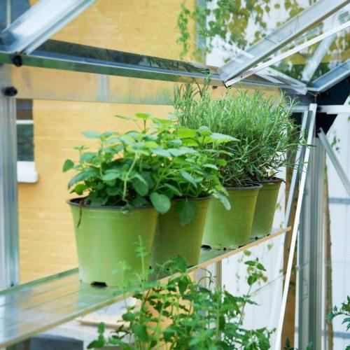 Tuinkas Gardener 214, polycarbonaat