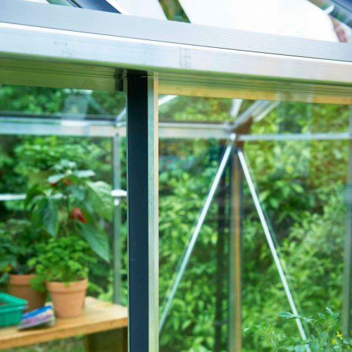 Tuinkas Gardener 214, veiligheidsglas