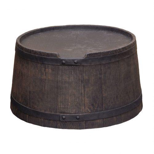 Voet voor regenton Roto Houtlook 120 liter bruin