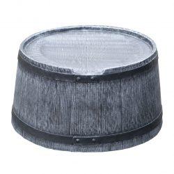 Voet voor regenton Roto Houtlook 120 liter grijs