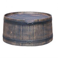 Voet voor regenton Roto Houtlook 240 liter bruin