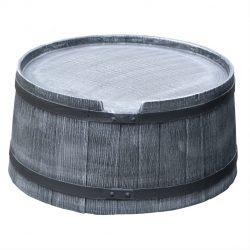 Voet voor regenton Roto Houtlook 240 liter grijs