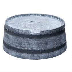 Voet voor regenton Roto Houtlook 360 liter grijs