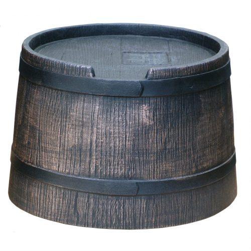 Voet voor regenton Roto Houtlook 50 liter bruin
