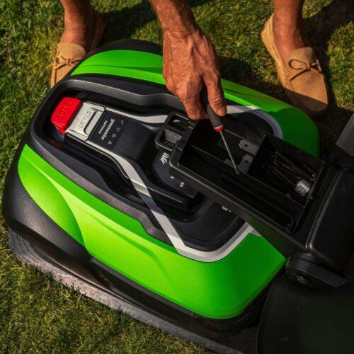 Greenworks optimow® garage voor robotmaaiers