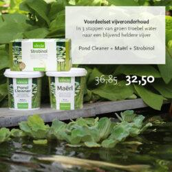 vincia voordeelset strobinol maërl pond cleaner